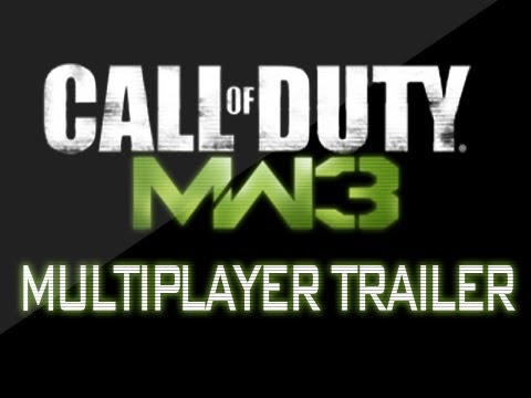 Modern Warfare 3 - Multiplayer Gameplay Trailer (Call of Duty: MW3 Multiplayer Gameplay) [HD]
