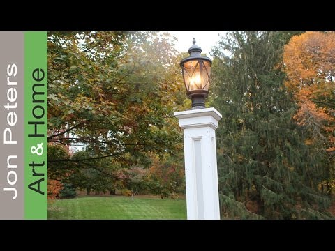 How To Make A Lamp Post Build A Decorative Column Wrap