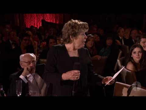 2010 Governors Awards -- Anne Jackson toasts Eli Wallach