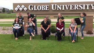 Globe University Green Bay ALS Ice Bucket Challenge