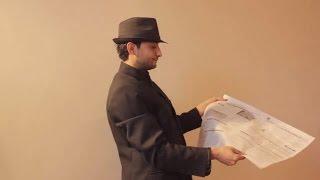 تعلم العاب الخفة #373 الجريدة الخارقة الجزء الاول. .. Newspaper magic trick revealed part 1