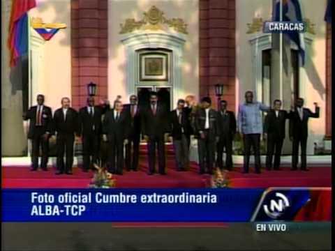 17 MAR 2015 Cumbre Presidencial Alba- TCP Caracas 2105: Foto Oficial