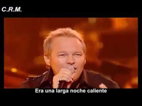 Cutting Crew, I Just Died In Your Arms, live, Subtitulado español