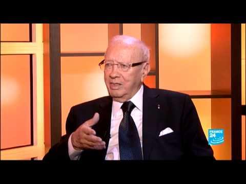 image vid�o الحوار كامل لباجي قايد السبسي مع فرنسا24
