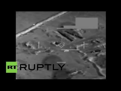 EE.UU. muestra su poder aéreo en Irak atacando al Estado Islámico