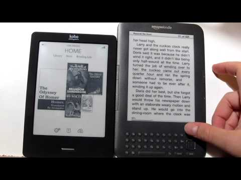 Kobo Touch vs Kindle 3 Comparison Review