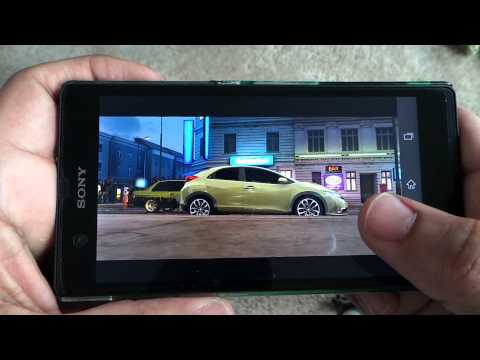 SONY XPERIA Z FAST AND FURIOUS 6 GAMEPLAY