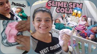 SLIME SEM COLA + PASSEIO REBORN