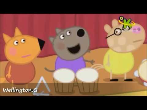 Peppa pig – Cantando Funk videos engraçado