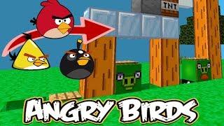 Minecraft 創世神 憤怒鳥 (Angry Bird) | 有趣的紅石地圖遊戲 !【至尊星】