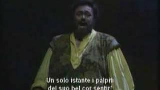 Luciano Pavarotti Una Furtiva Lagrima