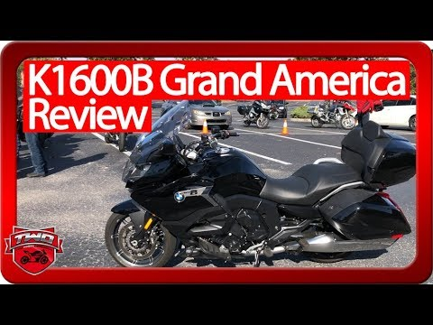 2018 BMW K1600B Grand America Review