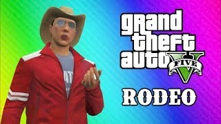 GTA 5 Online Funny Moments - Tank Rodeo, Pool C4 Chain Explosion, Belly Flops, Vin Diesel!