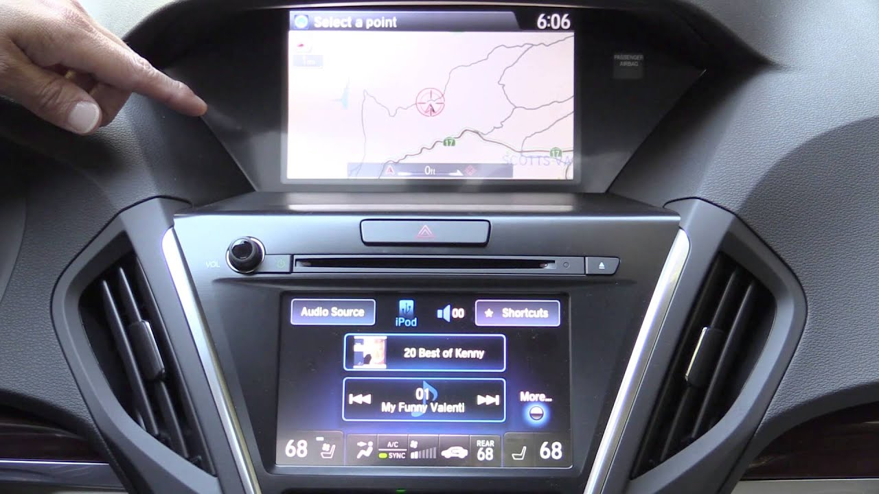 2015 Acura Acuralink Navigation And Infotainment System