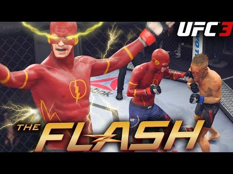 EA UFC 3: The Flash Has The Fastest Hands In The UFC - The Return - EA Sports UFC 3 Gameplay thumbnail