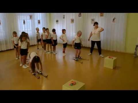 Спортивный праздник в детском саду Игра Попади в цель