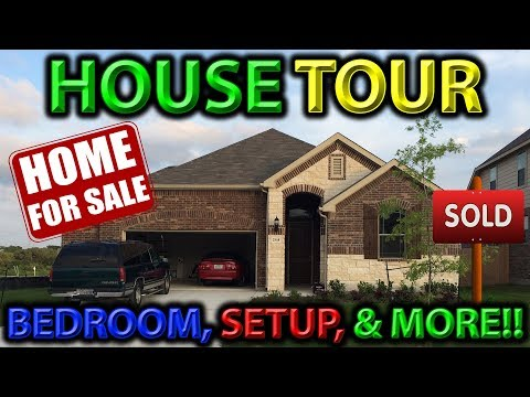 ***HOUSE TOUR*** MY FIRST HOUSE!! BEDROOM, SETUP, & MORE!!   GUNNERS ALIVE