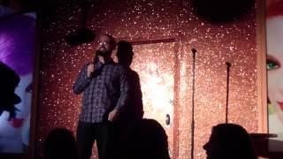 Comedian INGRATIATES Heckler!!!