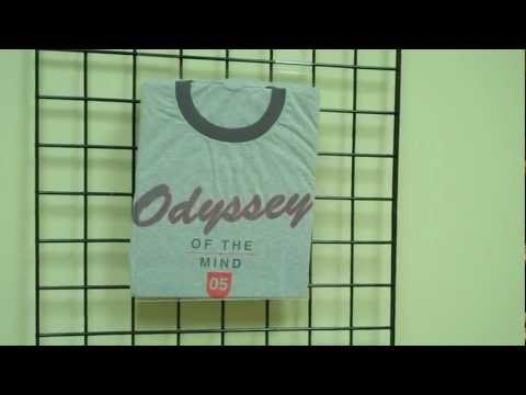 t Shirt Table Display Gridwall T-shirt Displays