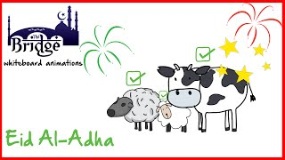 Download Why do Muslims sacrifice and celebrate on Eid al-Adha? |Whiteboard Reminders 3Gp Mp4