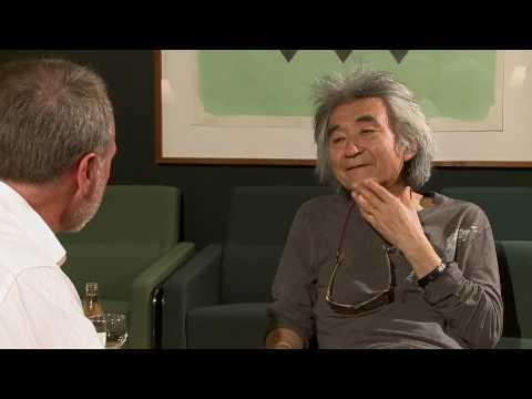 Seiji Ozawa in conversation with Fergus McWilliam