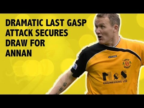 Weatherston secures draw for Annan