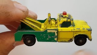 MATCHBOX Restoration No 13d Dodge Wreck Truck 1965