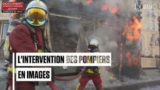 """Acte 18 des """"gilets jaunes"""" :  les incendies des Champs-Elysées"""