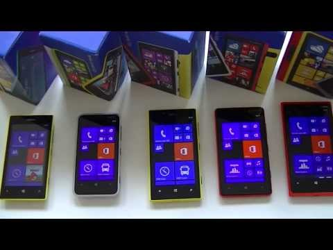Comparatif Nokia Lumia 520. 620. 720. 820. 920   par Top-For-Phone.fr