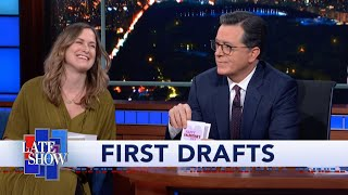 Late Show First Drafts: Valentine's Day 2020