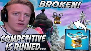 "Tfue Was SHOCKED After Seeing How BROKEN The ""HOT SPOTS"" Are In Fortnite! (Rip Competitive?)"