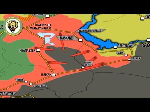 3 июля 2017. Военная обстановка в Сирии. США обвиняют Асада в планируемой химатаке. Русский перевод.