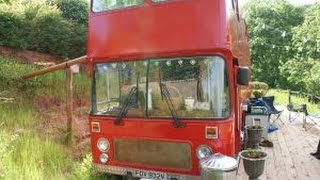 Double-Decker Bus Converted into Dream Holiday Home (Forest of Dean)