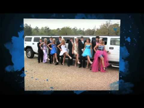 Pink Hummer Limo in Mississippi Proms