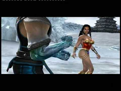 MK vs DC. DC side. Chapter 3: Wonder Woman Music Videos