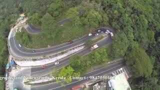 KERALA Thamarassery Churam  Aerial Helicam Video