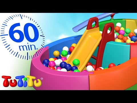 La princesa Elsa atascada en el parque de bolas 💗 Dibujos Animados Infantiles Play Doh Stop Motion
