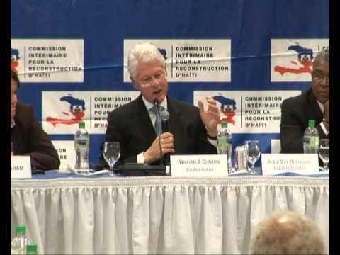 TODAYSNETNEWS:  HAITI - UN SPECIAL ENVOY CLINTON & RECONSTRUCTION (MINUSTAH)