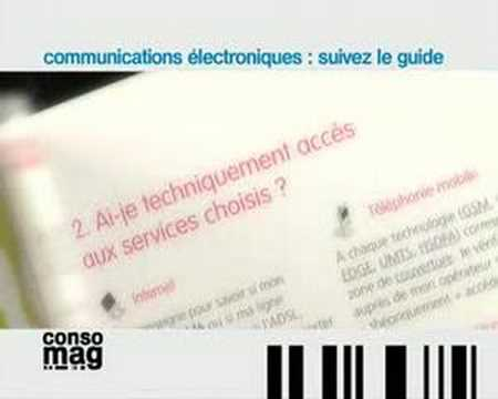 ConsoMag Le guide des télécommunications