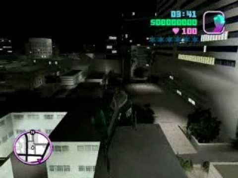 Encontrar helicoptero en GTA Vice City  |HDvideo|