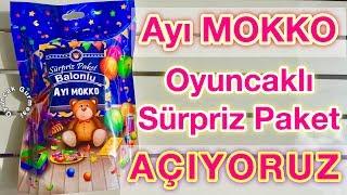 Ayı Mokko Oyuncaklı Sürpriz Paket Açılımı Yaptık