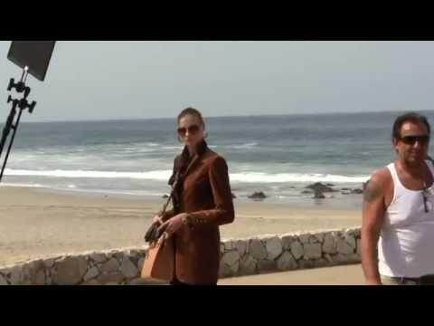 Sesión Fotográfica de Revista Alemana en playa Zicatela, Abril 2012