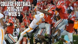 Best of Week 5 of the 2016-17 College Football Season ᴴᴰ