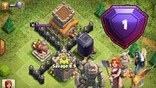 TH8 LEGEND Raids   Best TH8 Attacks!   Push for Record #17