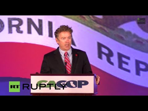 LIVE: Rand Paul speaks at Republican Party Convention in California