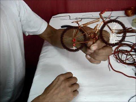 Como hacer bicicleta todo terreno en alambre youtube - Alambre de cobre ...