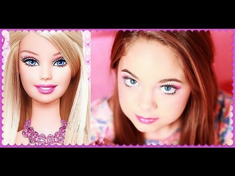 Barbie Makeup Tutorial �