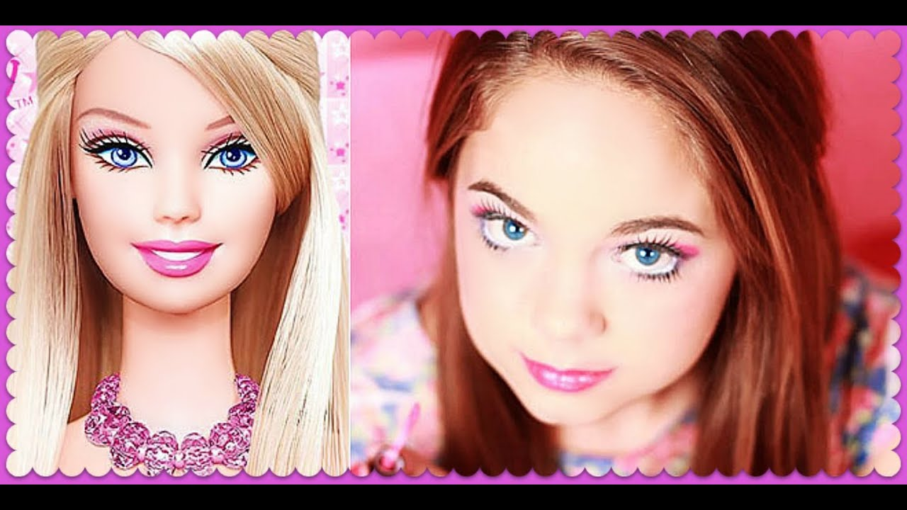 Barbie Makeup Tutorial by Emma Barbie Makeup Tutorial