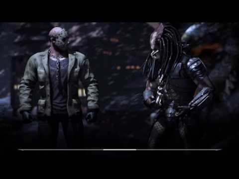 Mortal Kombat X - Jason Voorhees vs. Alien and Predator