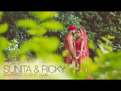 Ricky & Sunita - Luxury Sikh Wedding, Derby & Rugby UK / Indian Wedding in UK